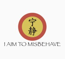 Aim to Misbehave by LonewolfDesigns