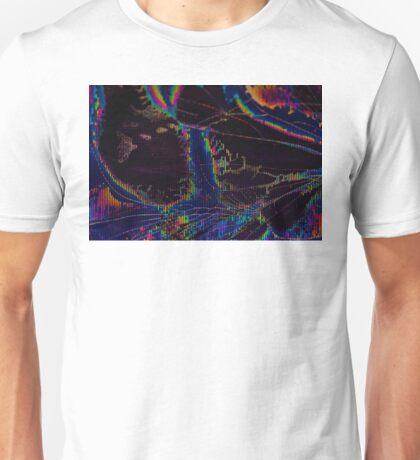 Broken LCD Screen Unisex T-Shirt