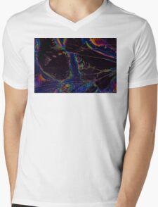 Broken LCD Screen Mens V-Neck T-Shirt