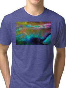 Pearlescent Clam Shell Tri-blend T-Shirt