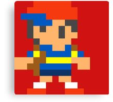 8 bit Ness Canvas Print