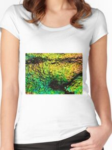 Intense Iridescence Women's Fitted Scoop T-Shirt
