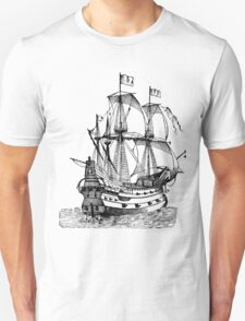 Classic Sailing Ship 02 Unisex T-Shirt