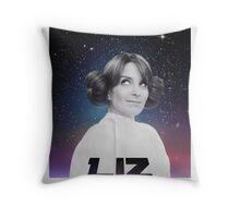 Liz Lemon is a princess ! Throw Pillow