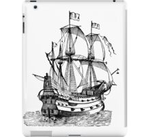 Classic Sailing Ship 02 iPad Case/Skin