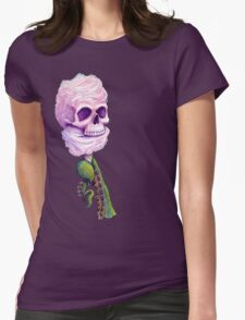 Cotton Cthulu Candy Womens Fitted T-Shirt