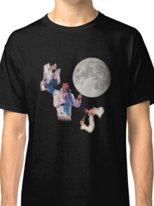 Three Elvis Moon Classic T-Shirt