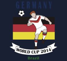 Germany World Cup 2014 Team Kids Tee