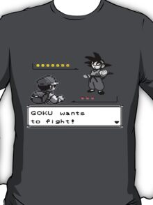 Crossover Pokemon - Dragonball Coloured balls T-Shirt