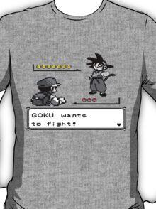 Crossover Pokemon - Dragonball Coloured balls T-Shirt