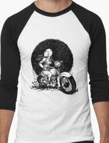 Women Who Ride- We like Dirt and We got Titties Men's Baseball ¾ T-Shirt