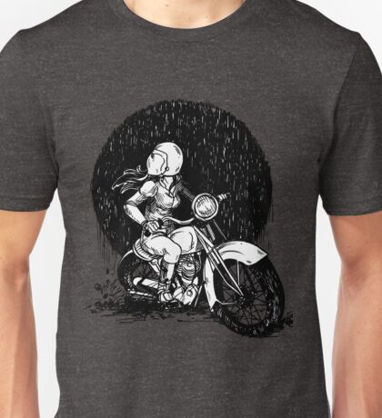 Women Who Ride- We like Dirt and We got Titties Unisex T-Shirt