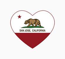 San Jose California Love Heart  Unisex T-Shirt