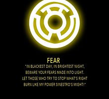 Sinestro Corps Oath by Raccoon-god