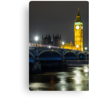 A Lapse in Time #1, London Canvas Print