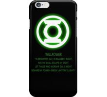 Green Lantern Corps oath iPhone Case/Skin