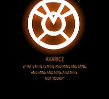 Agent Orange - Orange Lantern Corps oath by Raccoon-god