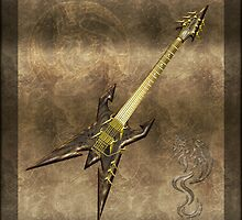 Heavy Metal Guitar by Bluesax