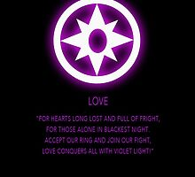 Star Sapphire Corps oath by Raccoon-god