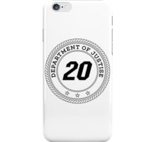 Department of Justise  iPhone Case/Skin