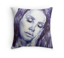Celebrity Portrait Throw Pillow