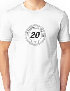 Department of Justise  Unisex T-Shirt
