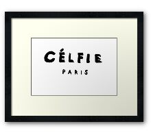 CELFIE-PARIS Framed Print