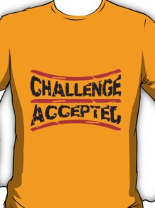 Stempel Challenge Accepted T-Shirt
