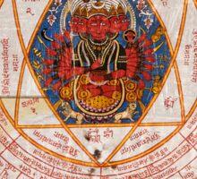 Buddha Yantra Sticker