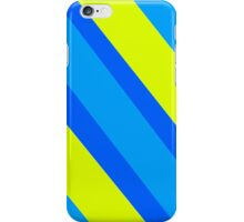 Blue Yellow Stripes  iPhone Case/Skin