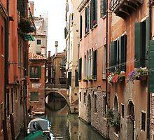 Venice canals 2 by Elena Skvortsova