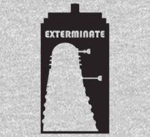Dalek within Tardis One Piece - Short Sleeve
