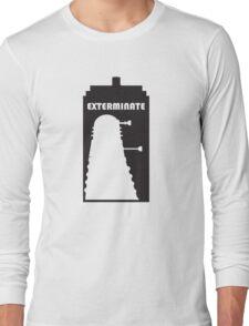 Dalek within Tardis Long Sleeve T-Shirt
