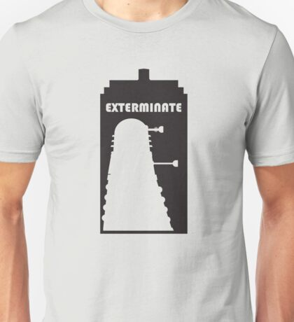 Dalek within Tardis Unisex T-Shirt