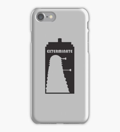 Dalek within Tardis iPhone Case/Skin