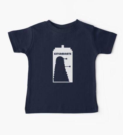 Dalek within Tardis (white) Baby Tee