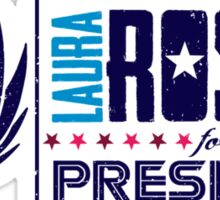 Roslin for President Sticker