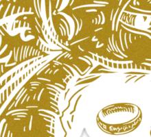 Golden & Magnificent Sticker