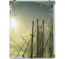 boat masts iPad Case/Skin