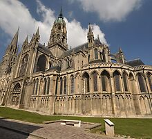 Bayeux Cathedral, France, Europe 2012 by muz2142