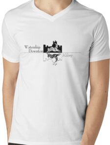 Watership Downton Abbey Mens V-Neck T-Shirt