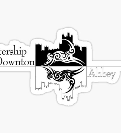 Watership Downton Abbey Sticker