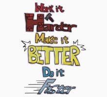 Harder, Better, Faster, Stronger by lokioff