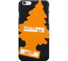 Fresh (Rad Orange) iPhone Case/Skin
