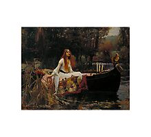 Lady Of Shalott Photographic Print