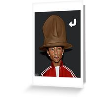 Pharell's Hat Greeting Card