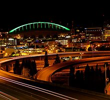 The busy roads to Seattle by Prachiverma
