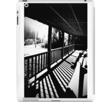Black and White Kentucky iPad Case/Skin