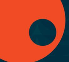 Modernist Circle Sticker