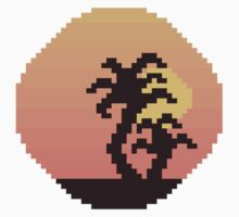 8bit sunset by atumatik